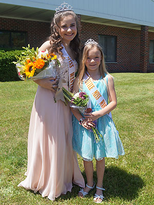 2019 Miss and Little Miss pagaent winners