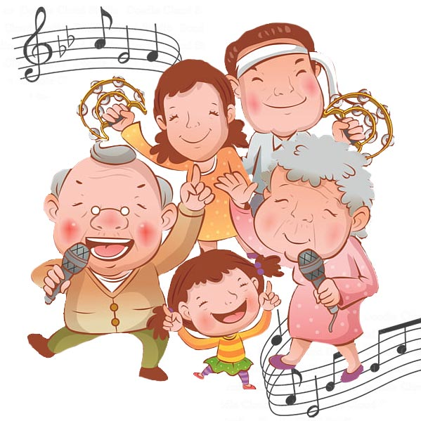 Community sing-along at the library on November 21